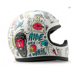 DMD CASCO RACER TRIBAL