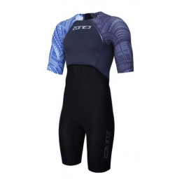 ZONE 3 MEN'S KONA TARGET SHORT SLEEVE SWIM SKIN
